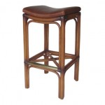 LAC Ennis Saddle Bar/Counter Stool