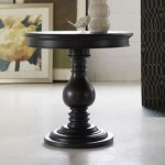 HO Hensley Pedestal End Table