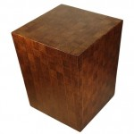 LAC Abaca Square Side Table