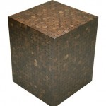 LAC Cocoshell Mosaic Side Table