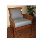 LAC Wash Lounge Chair Blue