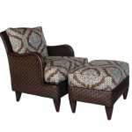 LAC Victoria Club Chair & Ottoman