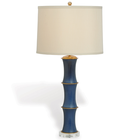 P68 Rivoli Navy Lamp