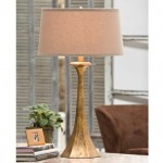 REGA Tapered Gold Lamp