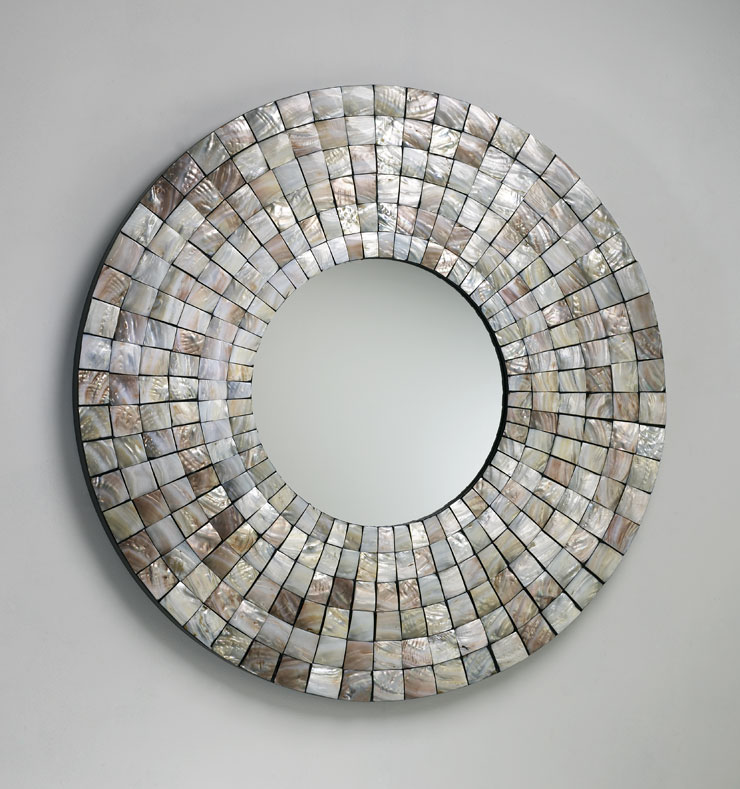 CYD Mosaic Shell Tile Mirror