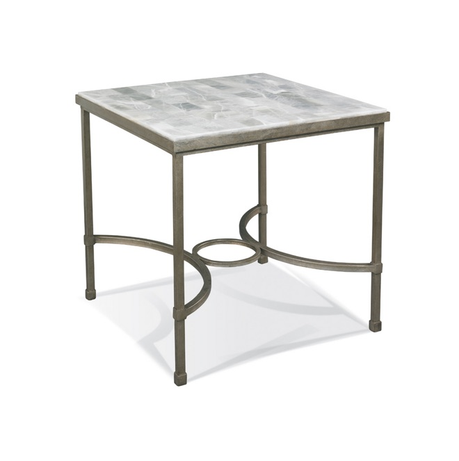 Cths Stone Top End Table