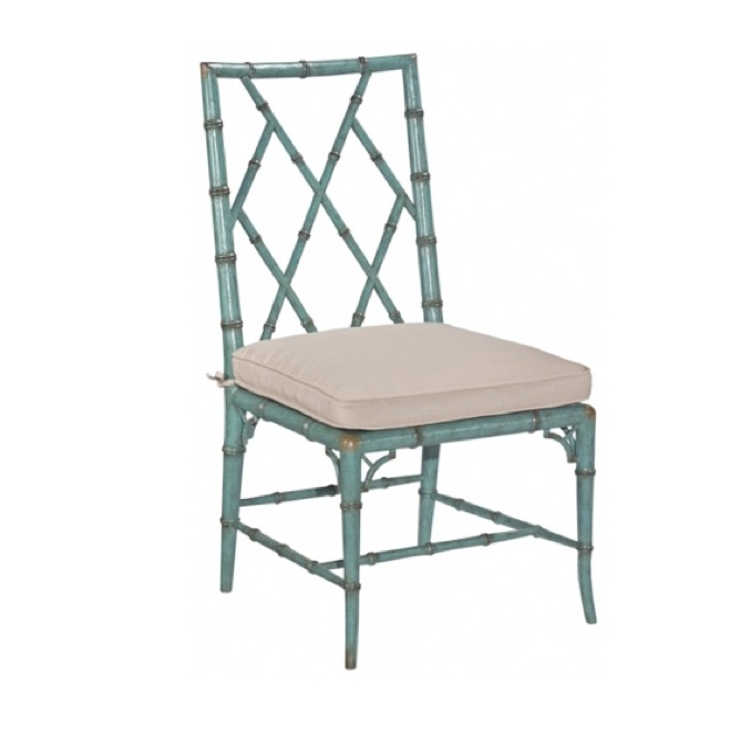 Attrayant WFC Turquoise Side Chair