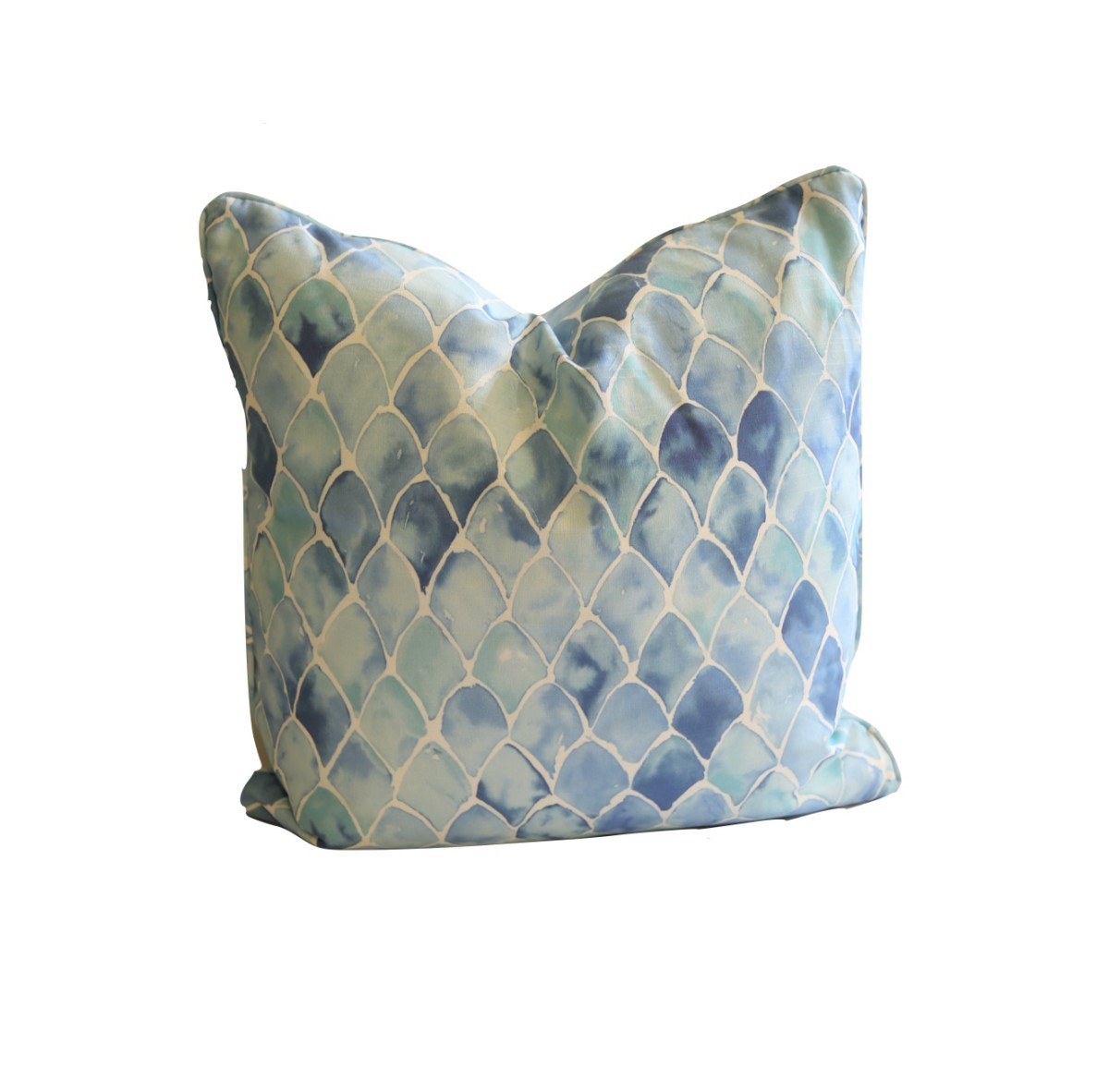 Brx Fish Scale Accent Pillow Swan Interiors And Furniture Store